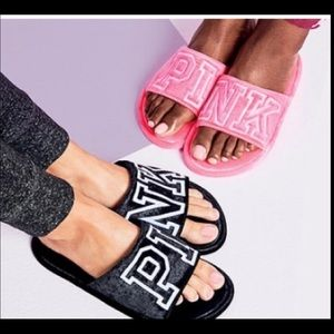 Victoria's Secret Pink Slippers Small (5-6)